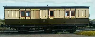 Cambrian Railways 6w Passenger Full Brake