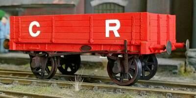 CC007 CR - LMS 8ton 4 plank Open Wagon