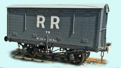 Rhymney Railway/Great Western 10ton Covered Van