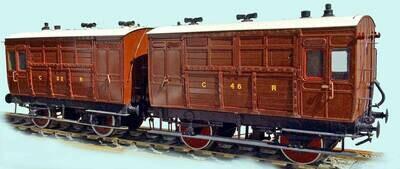 CC017 Caledonian Railway/LMS Horse Box