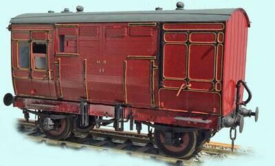 CC020 Midland Railway/LMS Dia.401 Horsebox