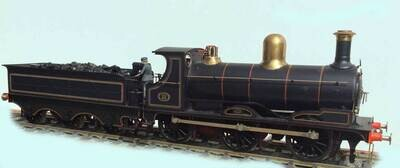 Taff Vale/GW K class 0-6-0 loco and tender.