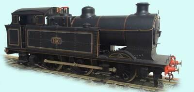 Taff Vale/GW A class 0-6-2 tank locomotive
