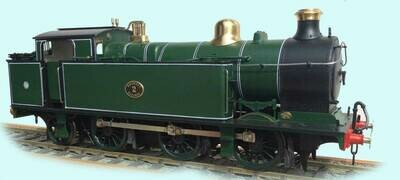 Rhymney Railway/GW/British Railways R class 0-6-2 tank loco