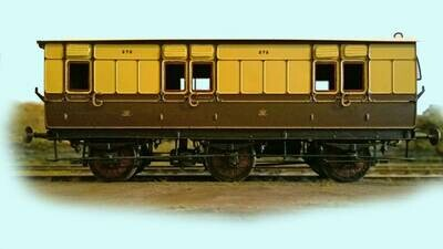 Great Western Railway Coaches and NPVs - Please choose from dropdown list.