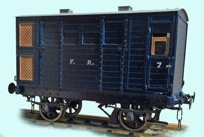CC018 Furness Railway/LMS Dia.38 Horse Box