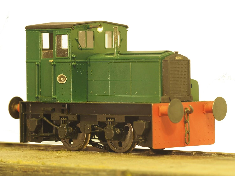 F.C. Hibberd Planet 4wDM Industrial Shunting Locomotive