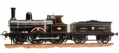 """Cambrian Small Passenger Class """"Albion"""" 2-4-0 Loco and Tender"""