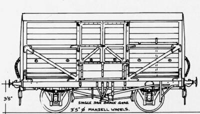 CC024 LSWR/SR Dia.1501/2 Cattle Wagon