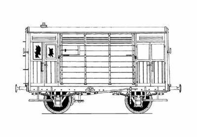 CC019 Hull & Barnsley/LNER Horse Box