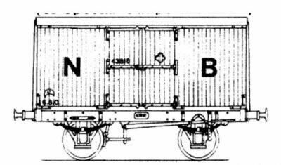 CC006A NBR - LNER 8ton Covered Van
