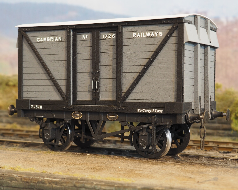 Cambrian Railways/GW 6 and 7 ton Box Van Kits