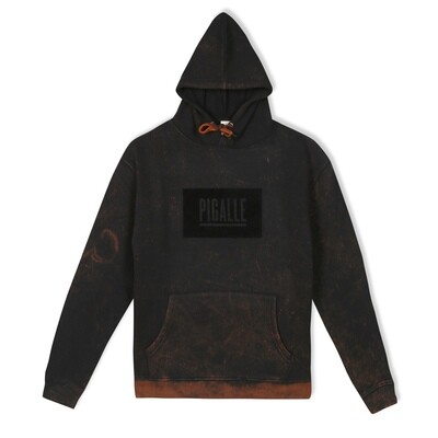 Black Acid Washed Hoodie