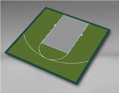 Basketball - Half Court 30'9