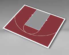 Basketball - Half Court 35'9