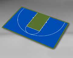 Basketball Half Court 45'11''/29'11''