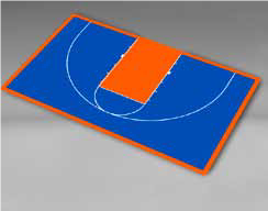 Basketball - Half Court 49'4