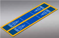 Shuffleboard - Double 19'9