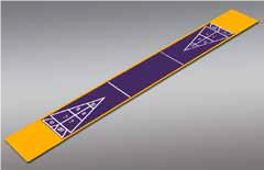 Shuffleboard - Single 7'1