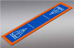 Shuffleboard - Single 9'7
