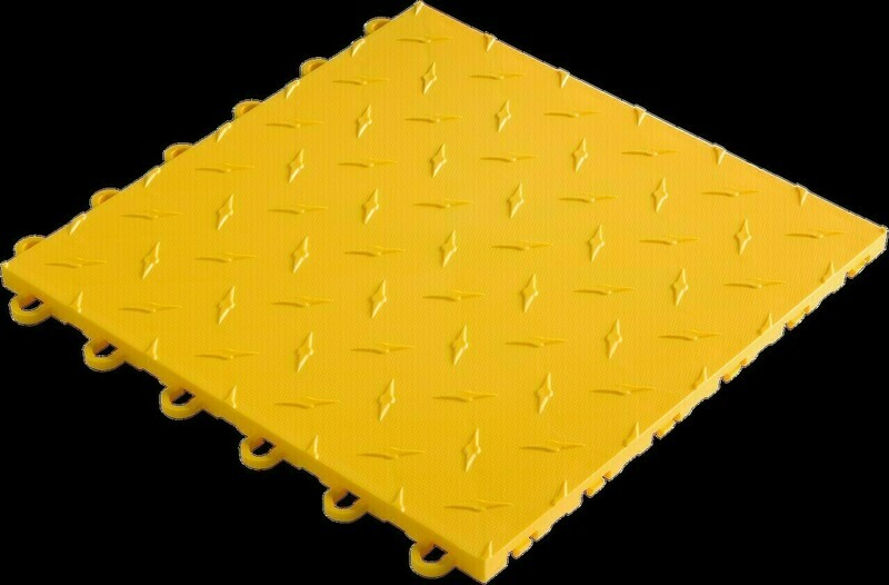 Speedway Tile Yellow 10 Pack