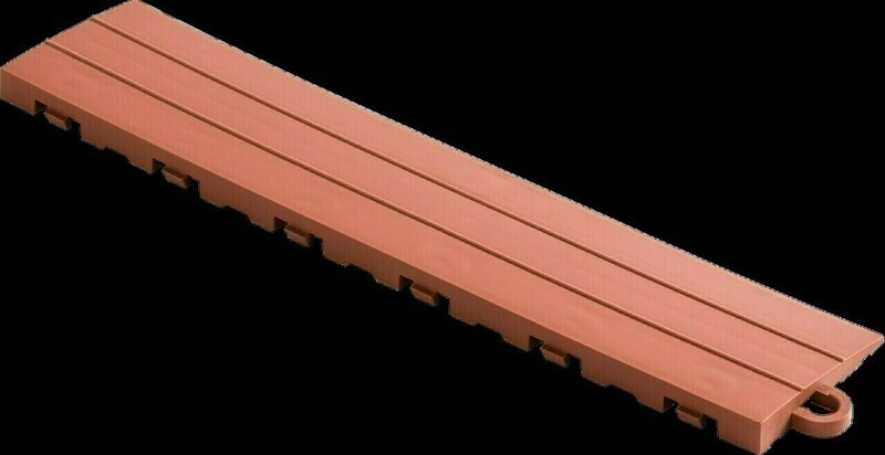 Speedway Tile Post Ramp Rust Red 5 Pack