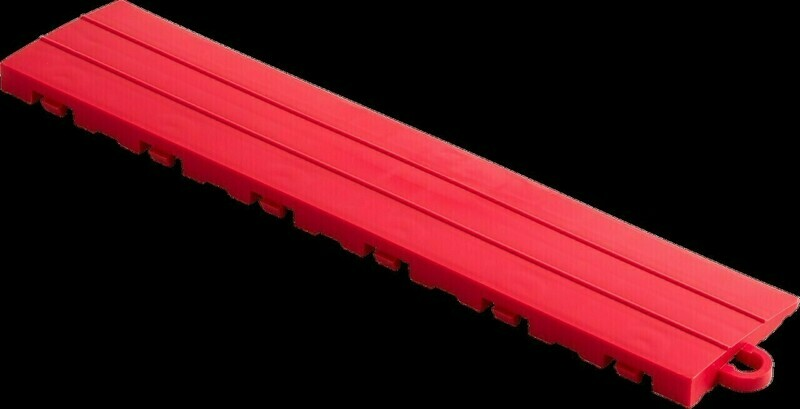 Speedway Tile Post Ramp Bright Red 5 Pack