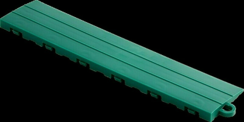 Speedway Tile Post Ramp Emerald Green 5 Pack