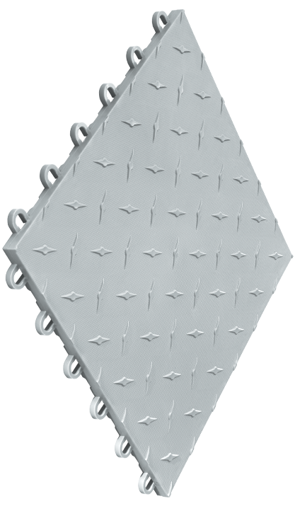 Speedway Tile Silver 10 Pack
