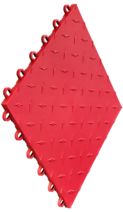Speedway Tile Bright Red 10 Pack