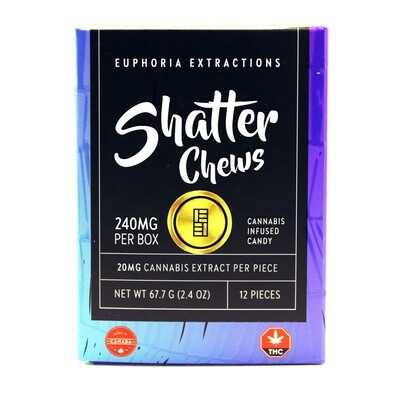 SHATTER CHEW - Indica [240mg]