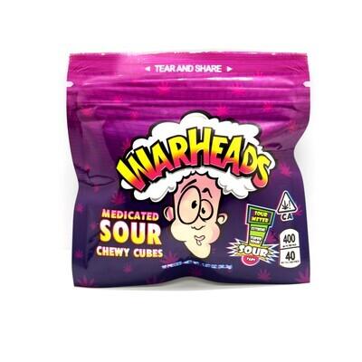 WAR HEADS - Sour Cherry Chews [500mg]