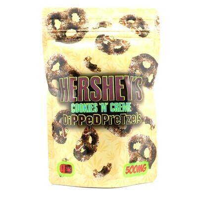 HERSEY PRETZELS - Cookies & Crème [500mg]