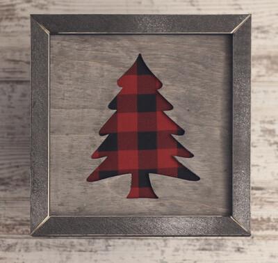 Christmas Tree (Buffalo Plaid)