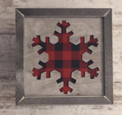 Snowflake (Buffalo Plaid)