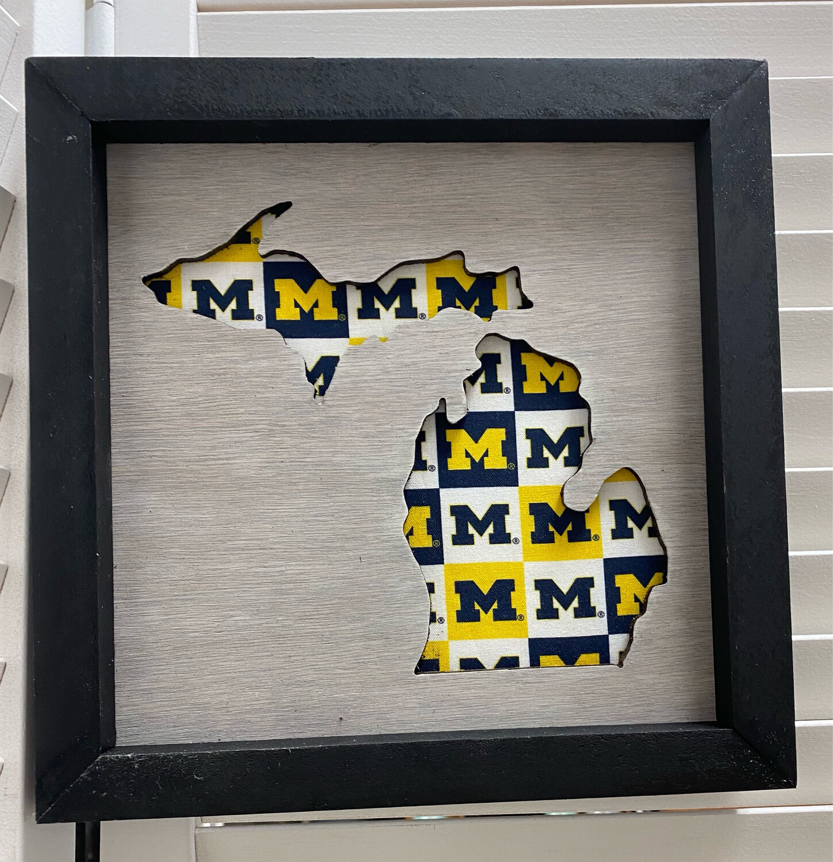 Michigan State Sign- University Of Michigan
