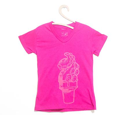 Camiseta Feminina Polvo-Sorvete