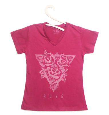 Camiseta Feminina Rose