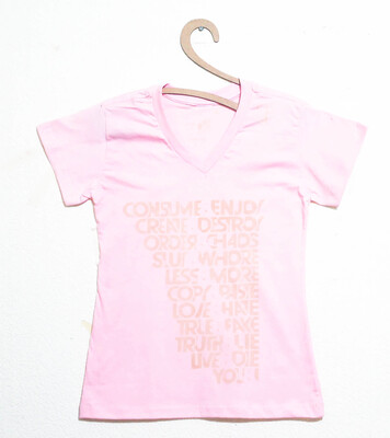 Camiseta Feminina Estampa AND