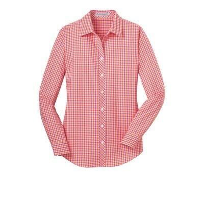 LADIES Gingham Shirt