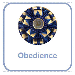 Obedience Rosettes