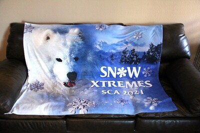 Snow Xtremes Plush Throw