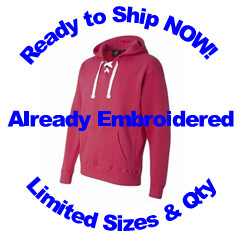 ADULT Lace Up Hoodie