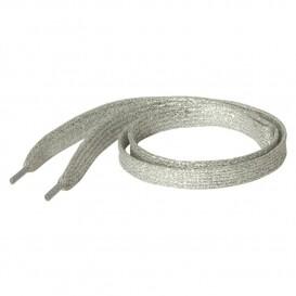 Silver Sparkle Laces