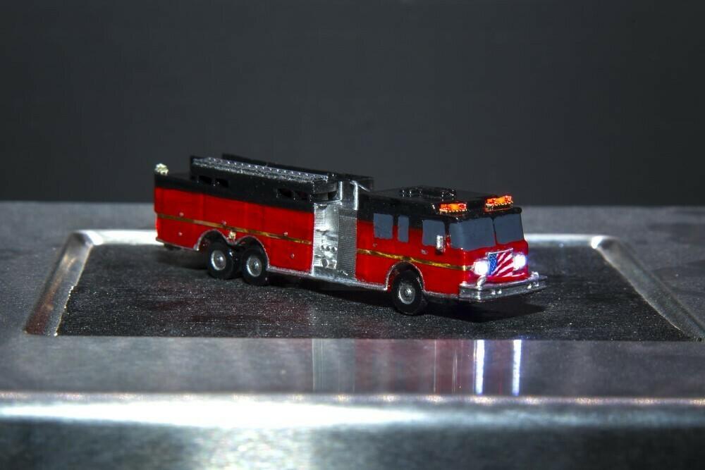 Custom Tanker Fire Engine