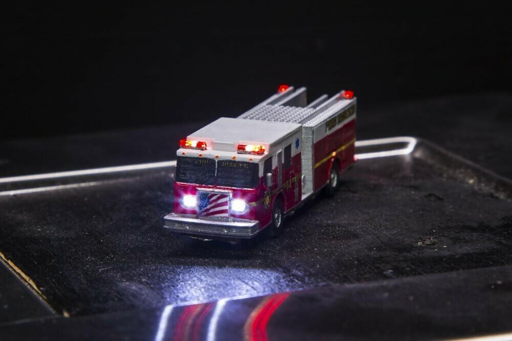 Custom Pumper Fire Engine