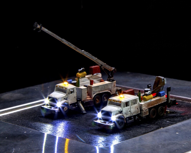 Showcase Miniatures MOW Trucks