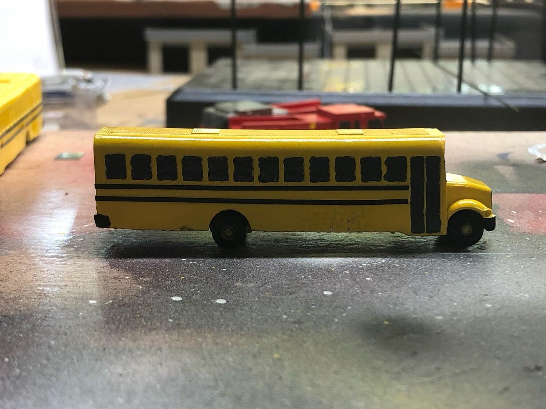 3D Printed School Bus