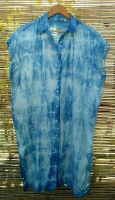Long Shibori Shirt