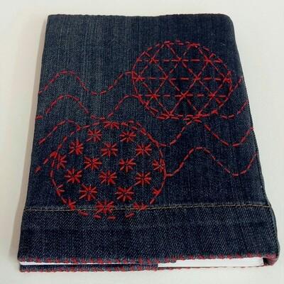 Sashiko Book Cover